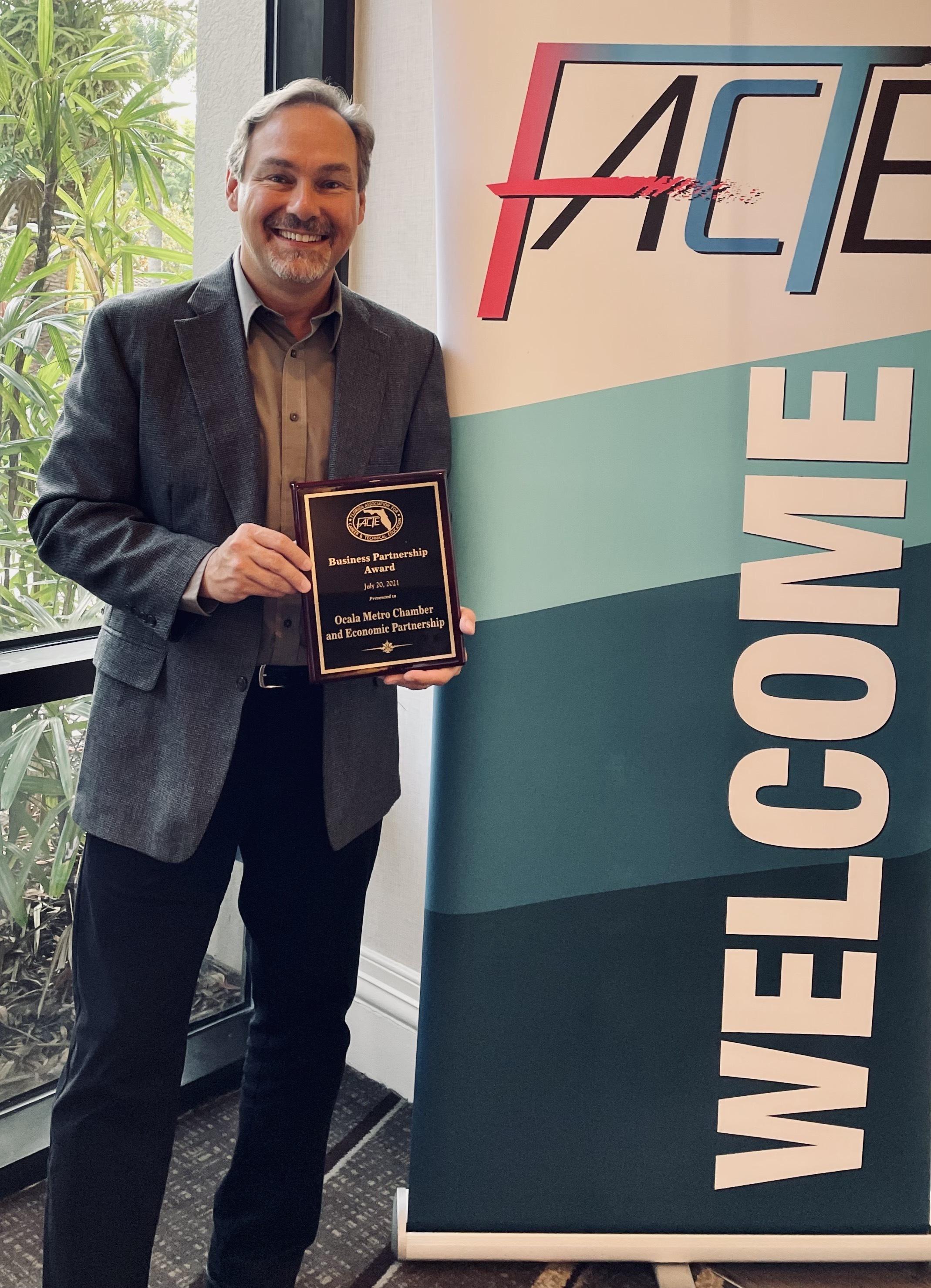 CEP's Blinkhorn Receives Statewide Award