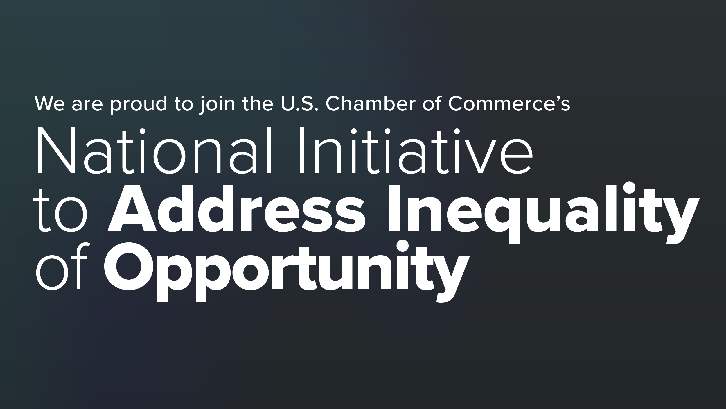 CEP Joins National Initiative to Address Inequality of Opportunity